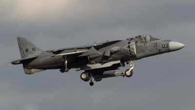Photo ID 151919 by Frank Noort. USA Marines McDonnell Douglas AV 8B Harrier ll, 165003