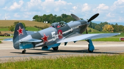 Photo ID 151968 by Giovanni Curto. Private Private Yakovlev Yak 3U, D FYGJ