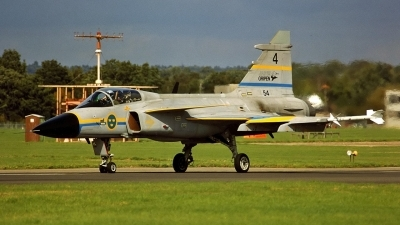 Photo ID 151999 by Peter Terlouw. Sweden Air Force Saab JAS 39A Gripen, 39 4