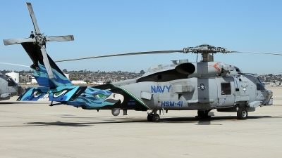 Photo ID 152170 by mark forest. USA Navy Sikorsky MH 60R Strikehawk S 70B, 166561
