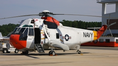 Photo ID 152171 by mark forest. USA Navy Sikorsky UH 3H Sea King, 154121