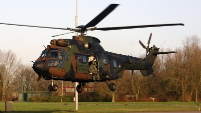 Photo ID 152292 by Jan Eenling. Netherlands Air Force Aerospatiale AS 532U2 Cougar MkII, S 454