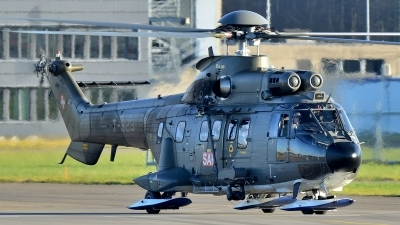 Photo ID 152298 by Martin Thoeni - Powerplanes. Switzerland Air Force Aerospatiale AS 332M1 Super Puma, T 323