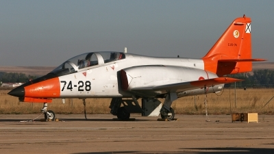Photo ID 152481 by Ruben Galindo. Spain Air Force CASA C 101EB Aviojet, E 25 74