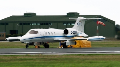 Photo ID 163022 by Jan Eenling. Company Owned GFD Learjet UC 36A, D CGFF