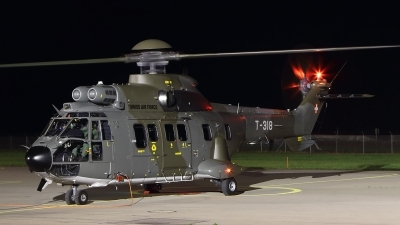 Photo ID 152566 by Ludwig Isch. Switzerland Air Force Aerospatiale AS 332M1 Super Puma, T 318