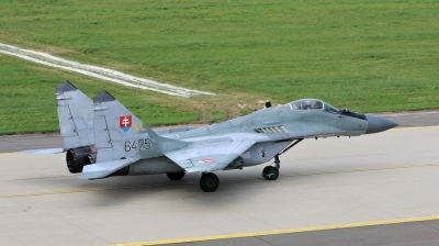 Photo ID 152740 by Milos Ruza. Slovakia Air Force Mikoyan Gurevich MiG 29AS, 6425