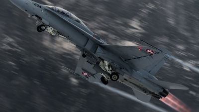 Photo ID 152777 by Alex van Noye. Switzerland Air Force McDonnell Douglas F A 18D Hornet, J 5234