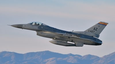 Photo ID 152921 by Lieuwe Hofstra. USA Air Force General Dynamics F 16C Fighting Falcon, 88 0427