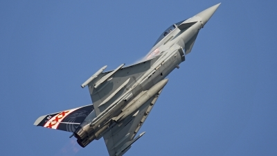 Photo ID 152935 by Andreas Weber. UK Air Force Eurofighter EF 2000 Typhoon FGR4, ZK343