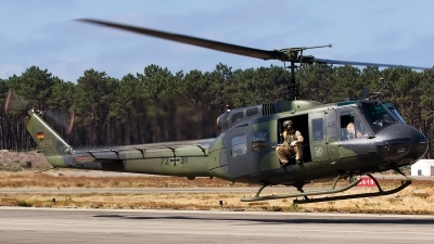 Photo ID 153029 by Joao Brito. Germany Army Bell UH 1D Iroquois 205, 72 91