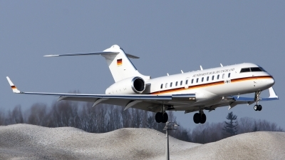 Photo ID 153197 by Lukas Kinneswenger. Germany Air Force Bombardier BD 700 1A11 Global 5000, 14 03