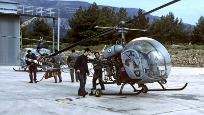 Photo ID 156153 by Carl Brent. Greece Air Force Bell OH 13H Sioux, 5322