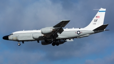 Photo ID 153254 by Ashley Wallace. USA Air Force Boeing RC 135W Rivet Joint 717 158, 62 4132