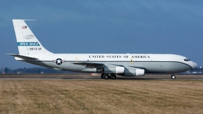 Photo ID 153276 by Ashley Wallace. USA Air Force Boeing OC 135B 717 158, 61 2670