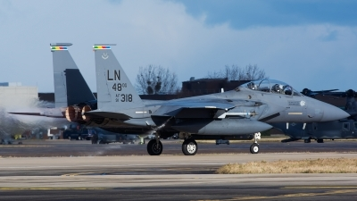 Photo ID 153256 by Ashley Wallace. USA Air Force McDonnell Douglas F 15E Strike Eagle, 91 0318