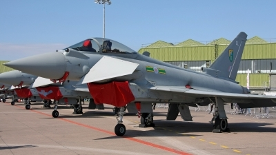 Photo ID 154169 by Jan Eenling. UK Air Force Eurofighter EF 2000 Typhoon FGR4, ZK310
