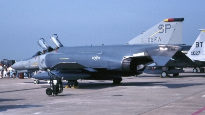 Photo ID 153343 by Tom Gibbons. USA Air Force McDonnell Douglas F 4G Phantom II, 69 7212