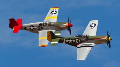 Photo ID 153387 by Andreas Zeitler - Flying-Wings. Private Commemorative Air Force North American P 51D Mustang, N5428V
