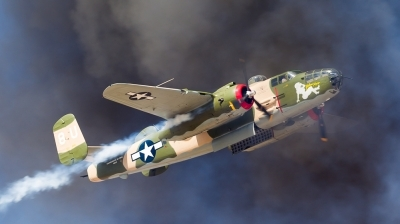 Photo ID 153382 by Andreas Zeitler - Flying-Wings. Private Commemorative Air Force North American B 25J Mitchell, N25YR