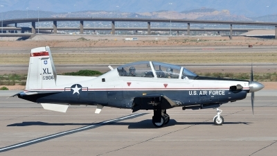 Photo ID 153613 by Lieuwe Hofstra. USA Air Force Raytheon T 6A Texan II, 08 3906