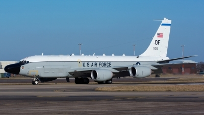 Photo ID 153627 by Ashley Wallace. USA Air Force Boeing RC 135W Rivet Joint 717 158, 62 4132