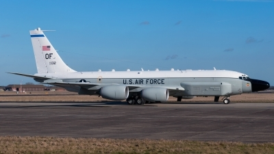 Photo ID 153645 by Ashley Wallace. USA Air Force Boeing RC 135W Rivet Joint 717 158, 62 4132
