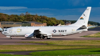 Photo ID 153700 by Ashley Wallace. USA Navy Boeing P 8A Poseidon 737 800ERX, 167952