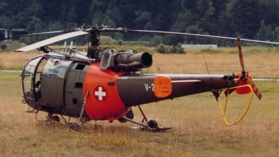 Photo ID 154387 by Martin Thoeni - Powerplanes. Switzerland Air Force Aerospatiale SA 316B Alouette III, V 261