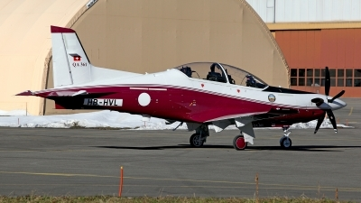 Photo ID 153829 by Carl Brent. Qatar Emiri Air Force Pilatus PC 21, HB HVL
