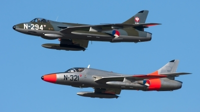 Photo ID 153886 by Robin Coenders / VORTEX-images. Private DHHF Dutch Hawker Hunter Foundation Hawker Hunter F6A, G KAXF