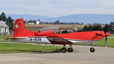 Photo ID 153903 by Milos Ruza. Switzerland Air Force Pilatus NCPC 7 Turbo Trainer, A 939