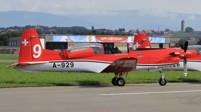 Photo ID 153943 by Milos Ruza. Switzerland Air Force Pilatus NCPC 7 Turbo Trainer, A 929