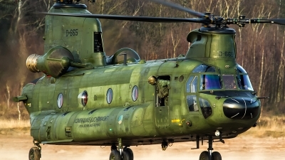 Photo ID 153970 by Giovanni Sneepels. Netherlands Air Force Boeing Vertol CH 47D Chinook, D 665