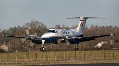 Photo ID 153994 by Chris Albutt. UK Air Force Beech Super King Air B200 GT, ZK458