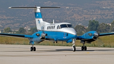 Photo ID 154265 by Niels Roman / VORTEX-images. Greece Army Beech C 12C Huron Super King Air A200, 401