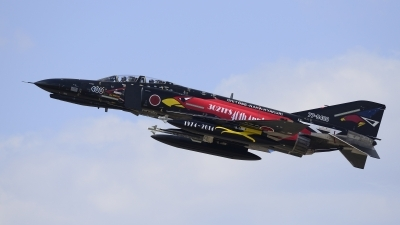 Photo ID 154235 by Takeshi Kikuzaki. Japan Air Force McDonnell Douglas F 4EJ KAI Phantom II, 77 8400