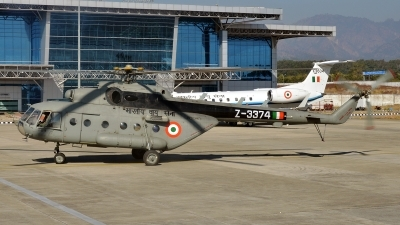 Photo ID 154204 by Arjun Sarup. India Air Force Mil Mi 17 1V, Z3374