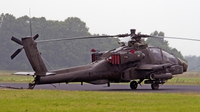 Photo ID 154942 by Jan Eenling. Netherlands Air Force Boeing AH 64DN Apache Longbow, Q 18