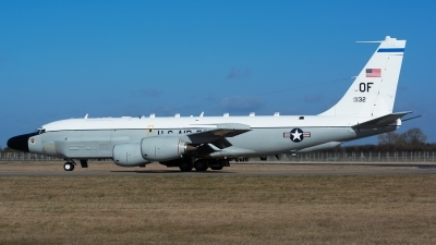Photo ID 154216 by Ashley Wallace. USA Air Force Boeing RC 135W Rivet Joint 717 158, 62 4132