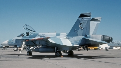 Photo ID 154237 by David F. Brown. USA Navy McDonnell Douglas F A 18A Hornet, 162435