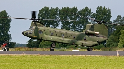 Photo ID 154244 by Jan Eenling. Netherlands Air Force Boeing Vertol CH 47D Chinook, D 662