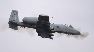 Photo ID 154361 by Lieuwe Hofstra. USA Air Force Fairchild A 10C Thunderbolt II, 81 0960