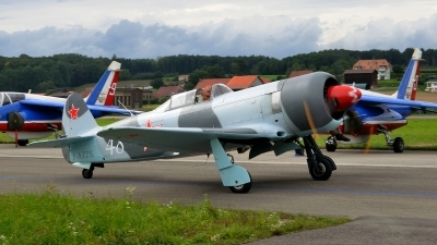 Photo ID 154421 by Martin Thoeni - Powerplanes. Private Private Yakovlev Yak 3UA, F AZZK