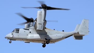 Photo ID 154483 by Jonathan Navarro. USA Marines Bell Boeing MV 22B Osprey, 168345