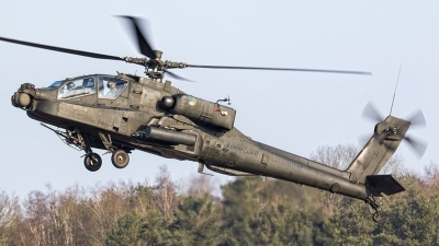 Photo ID 154502 by Giovanni Sneepels. Netherlands Air Force Boeing AH 64DN Apache Longbow, Q 24