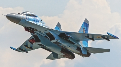 Photo ID 154556 by Antoha. Ukraine Air Force Sukhoi Su 27UB, 73 BLUE
