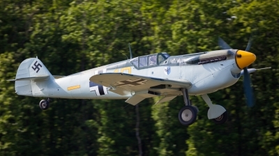 Photo ID 154551 by Andreas Zeitler - Flying-Wings. Private Historic Flying Ltd Hispano HA 1112 M1L Buchon, G BWUE
