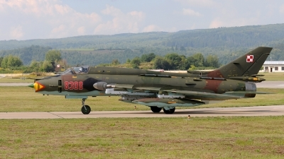 Photo ID 154573 by Stephan Franke - Fighter-Wings. Poland Air Force Sukhoi Su 22M4 Fitter K, 8308