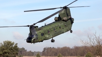 Photo ID 154640 by Carl Brent. Netherlands Air Force Boeing Vertol CH 47D Chinook, D 665